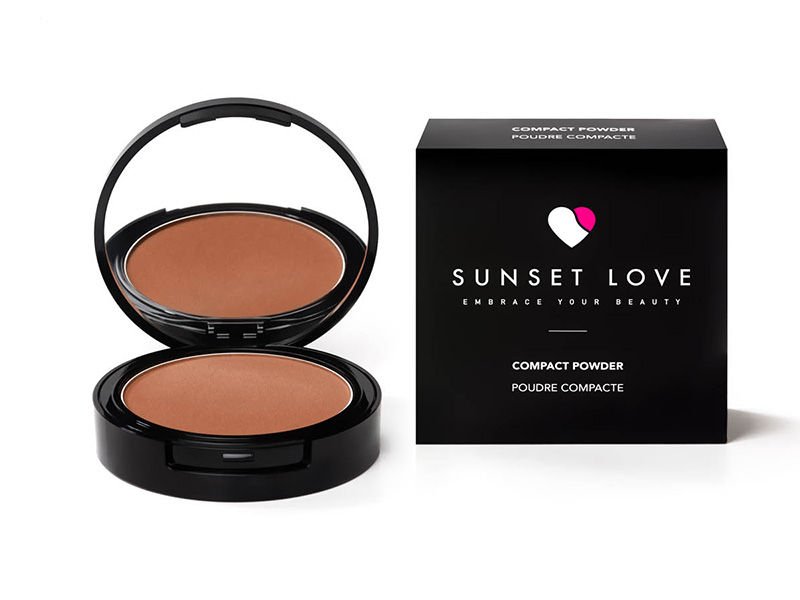 Poudre compacte Sunset Love Makeup